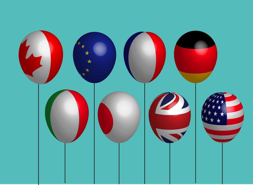 G20-峰會-部份國家