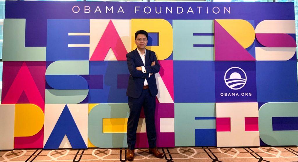 張樂芹-DanCheung-ObamaLeaders