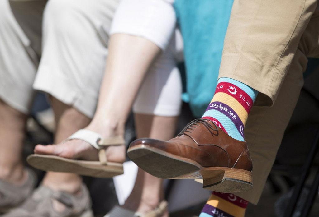 紳士學-杜魯多-彩虹襪