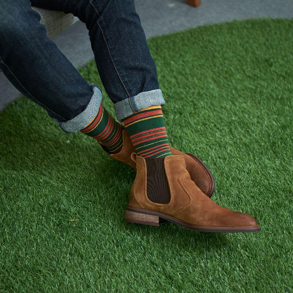 OPHK-襪色-圖案-穿搭
